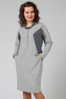 """Платье """"СКС"""" 3555/2 (Клетка)"""