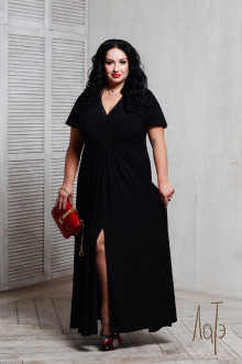 Платье 066201 ЛаТэ (Черный)