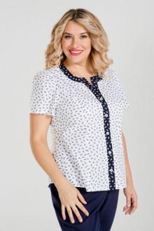 Блузка 906 Luxury Plus (Белый)